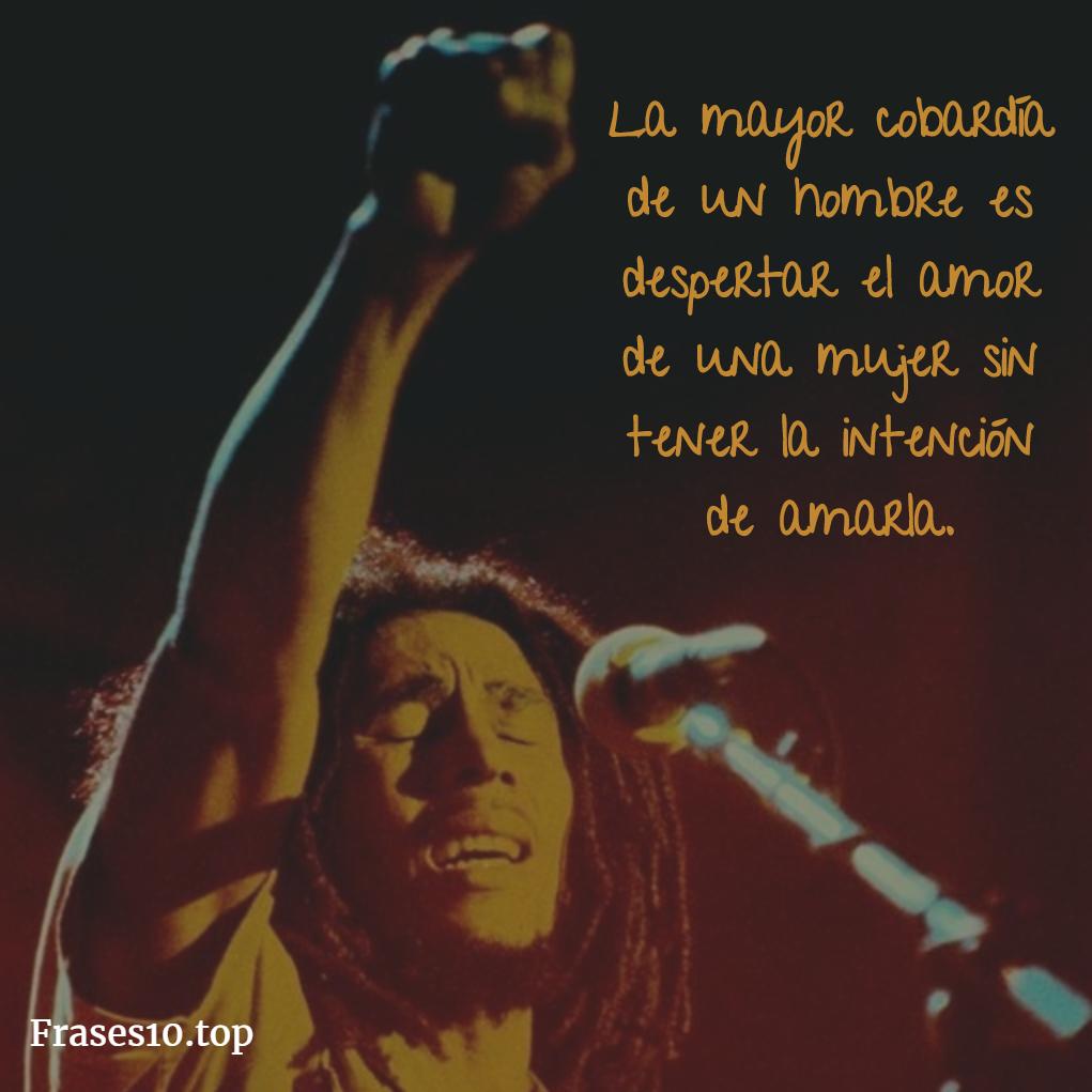 Frases De Bob Marley Motivadoras Y Amor Frases10 Top
