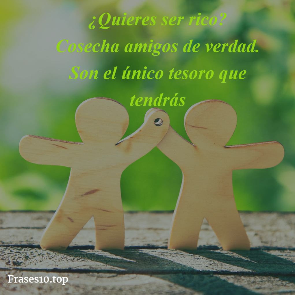 Frases cortas sobre amistad