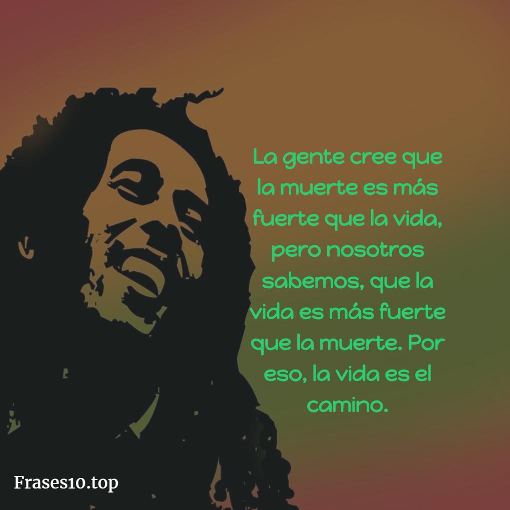 Frases de Bob Marley Cortas
