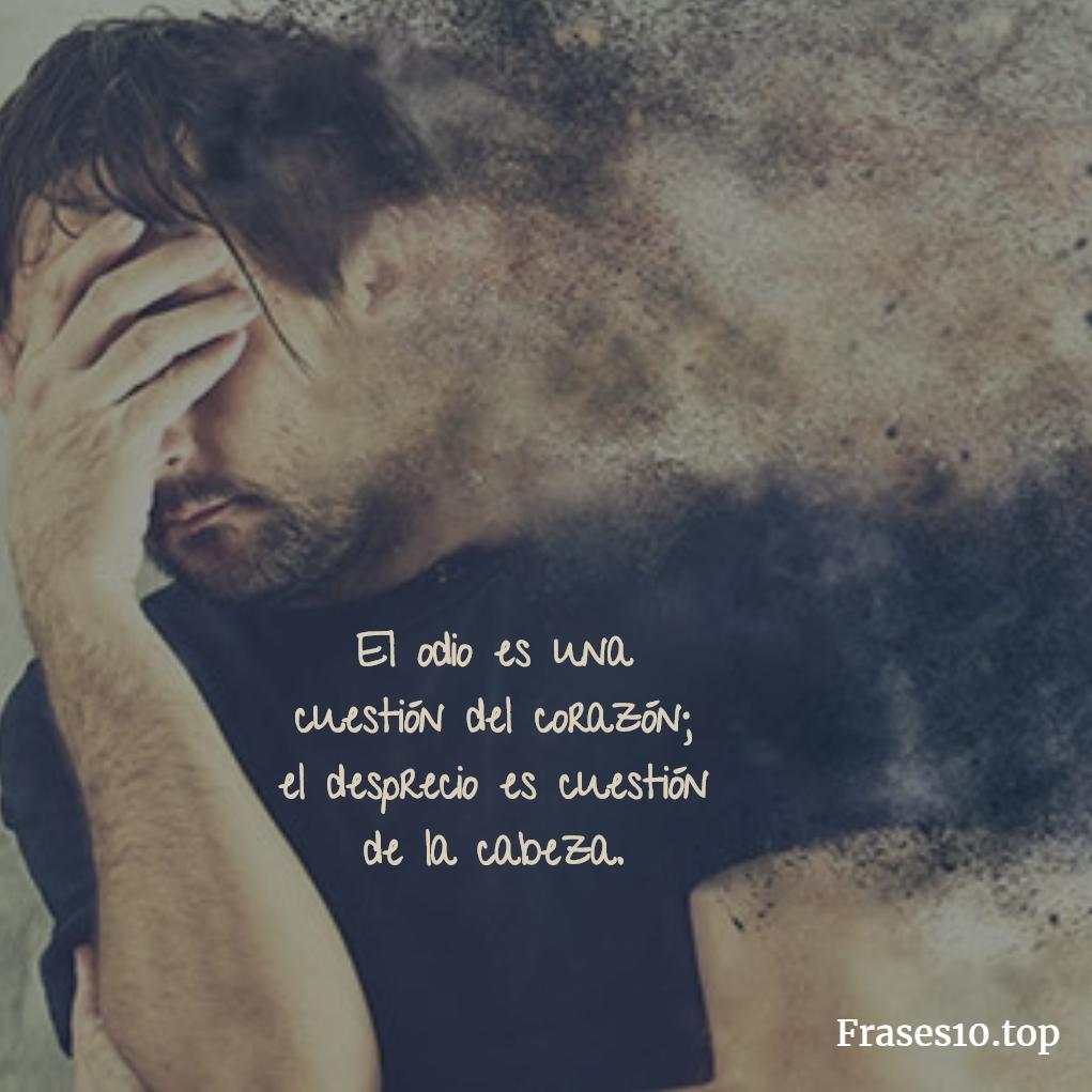 Frases De Desprecio Cortas Y Muy Tristes Para Pensar