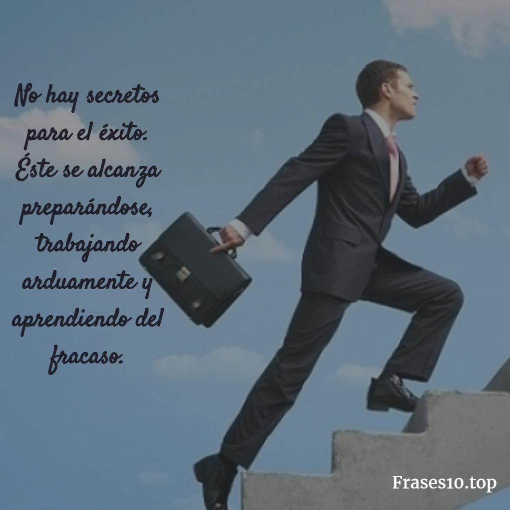 Frases de éxito y motivación cortas