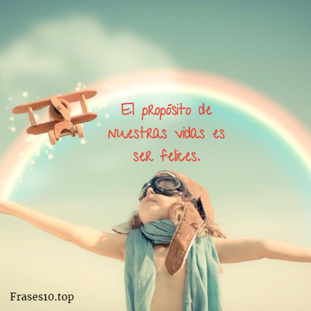 Frases De Felicidad Y Alegria Cortas Muy Bonitas