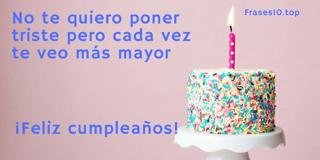 Frases de feliz cumpleaños para amigos y amigas