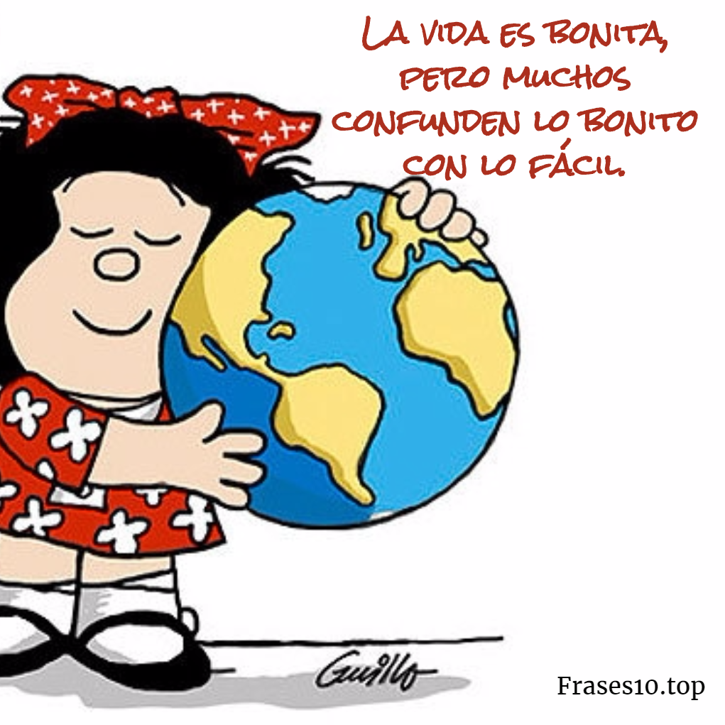 Frases de Mafalda de felicidad