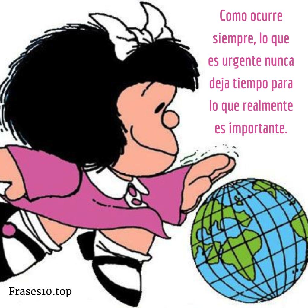 Frases De Mafalda De Amor Felicidad Frases10top