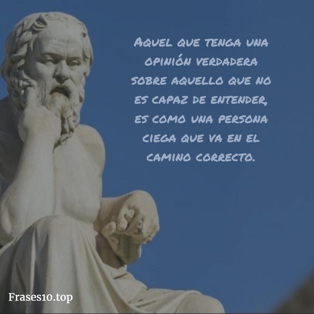 Frases de Sócrates para reflexionar