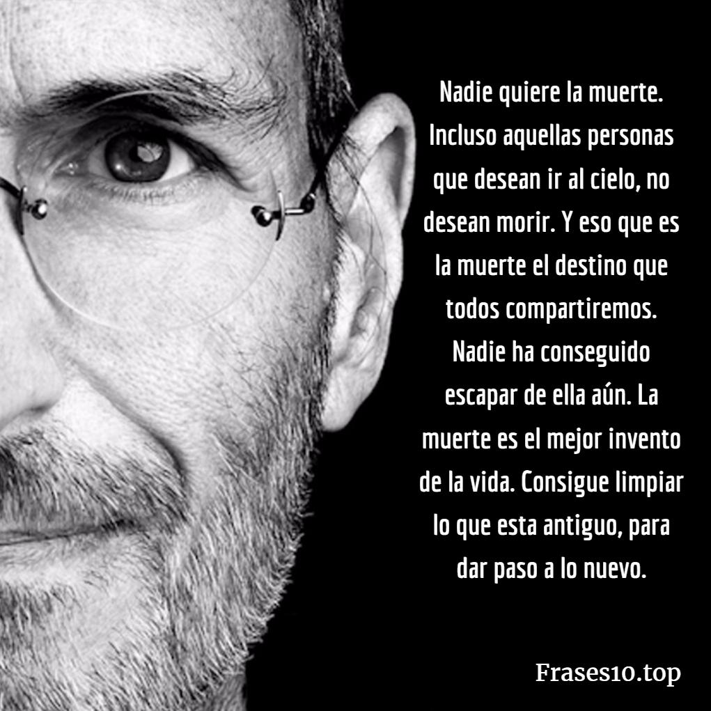 Frases de Steve Jobs Muerte