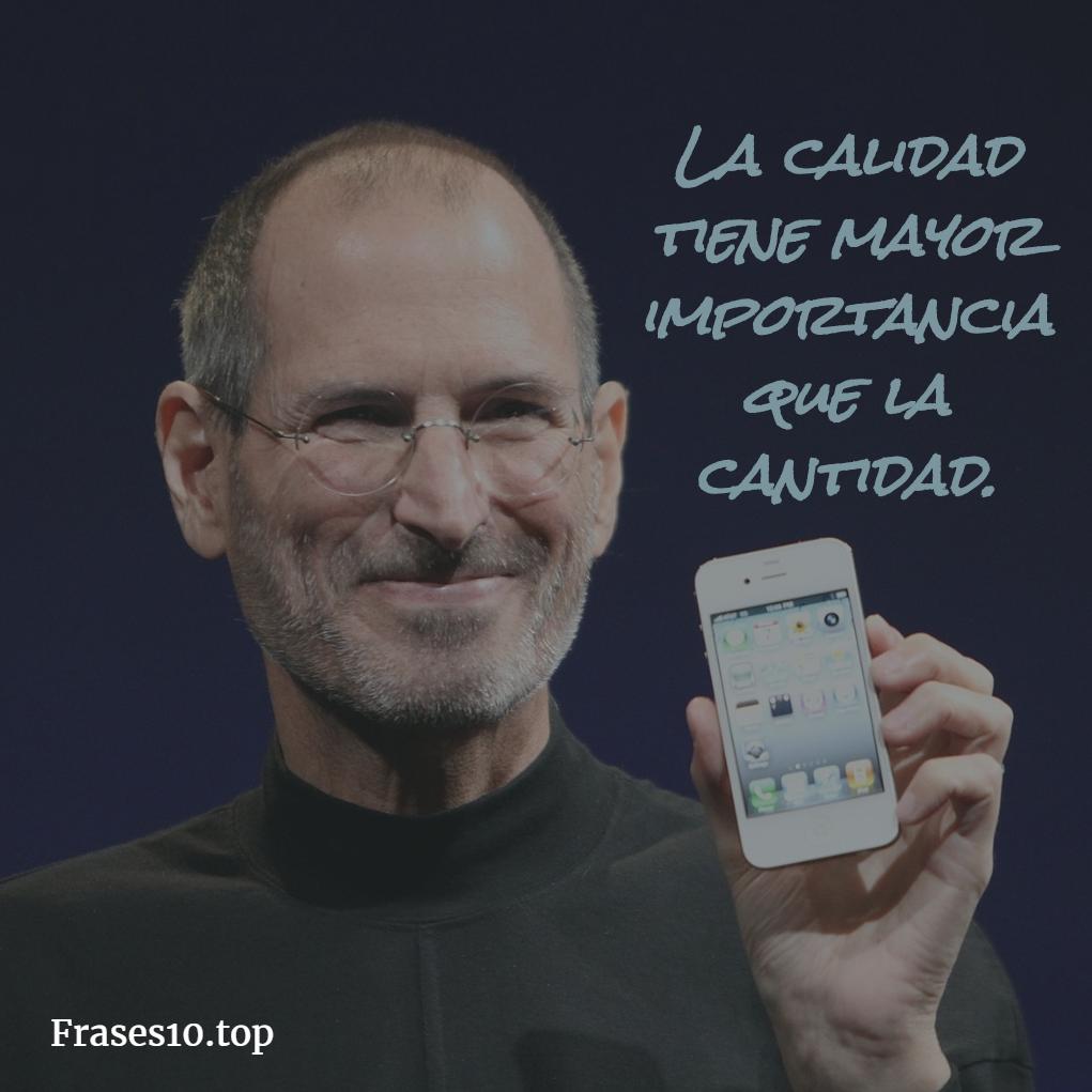 Frases de Steve Jobs trabajo