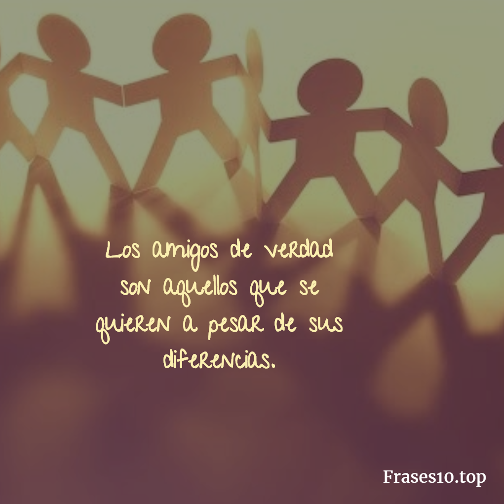 Frases De Amistad Cortas Y Bonitas Frases10 Top